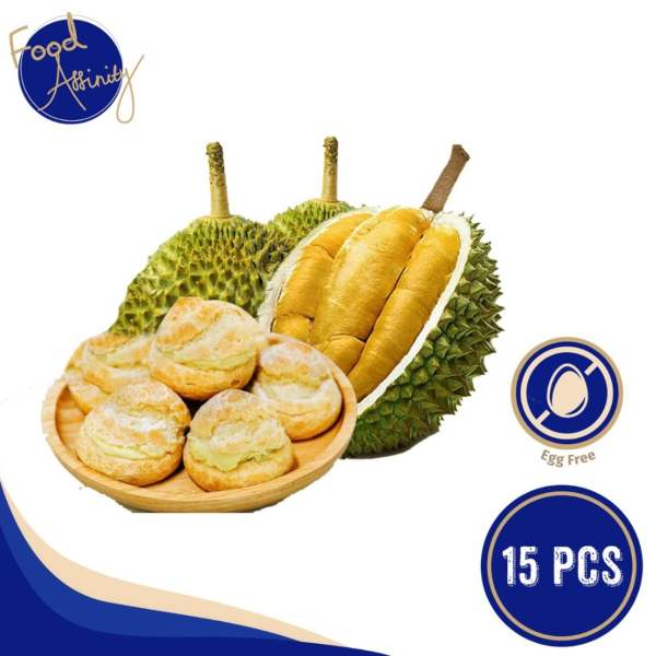 Food Affinity D24 Durian Puff best in singapore