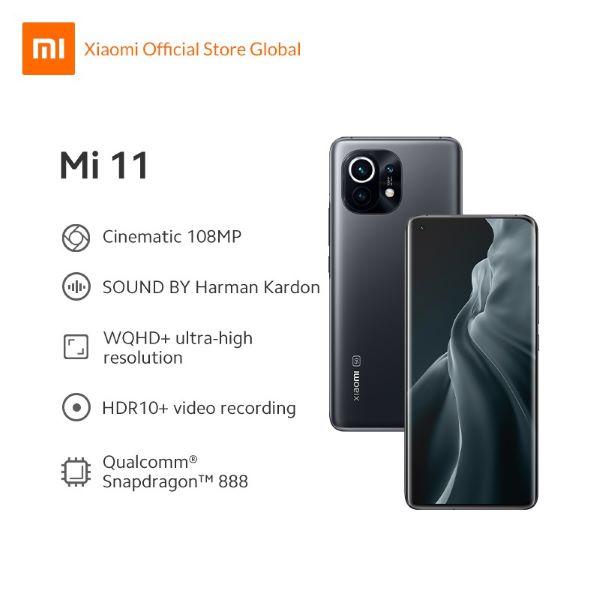 Xiaomi Mi 11 black best camera phone