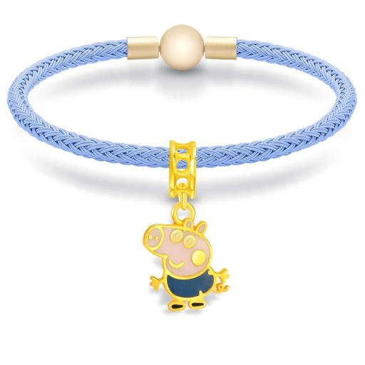 peppa pig 916 gold bracelet type of gold
