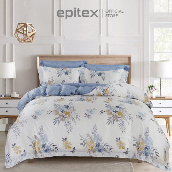 best bedsheet singapore cooling material epitex tencel printed 1000 thread count bedset floral design