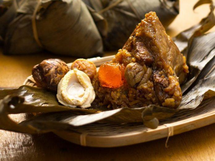 gim tim rice dumpling bak chang delivery abalone conpoy