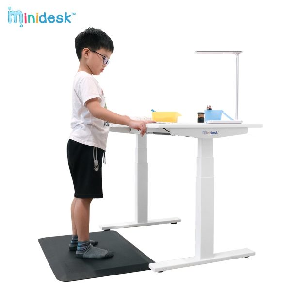omnidesk minidesk for kids standing table adjustable height