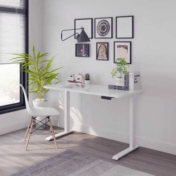white best standing desk singapore adjustable table orion basic electric