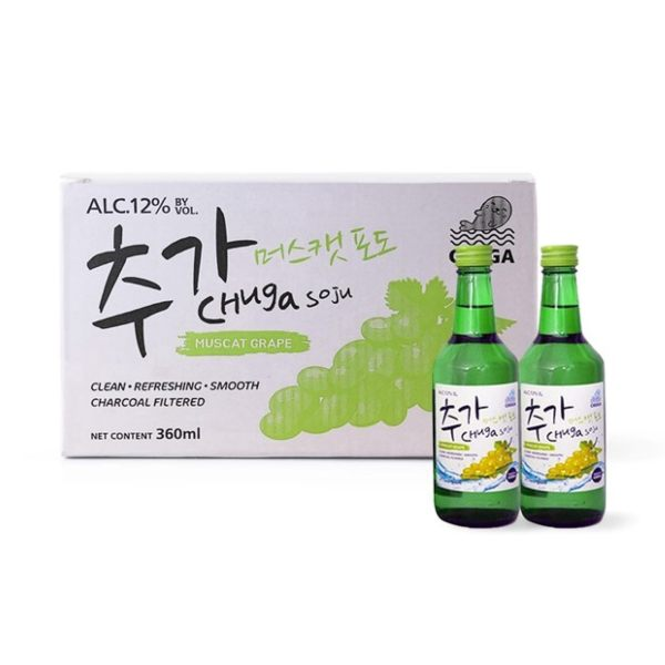 cheap alcohol delivery deal singapore chuga muscat grape soju box