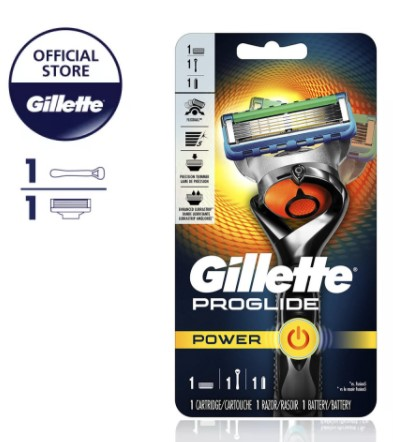 gillette fusion proglide flexball power best men's razors