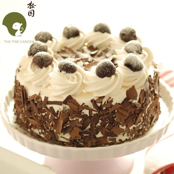 Father's Day cake delivery black forest cake