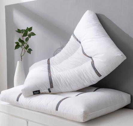 alshone 100% cotton best pillows for neck pain
