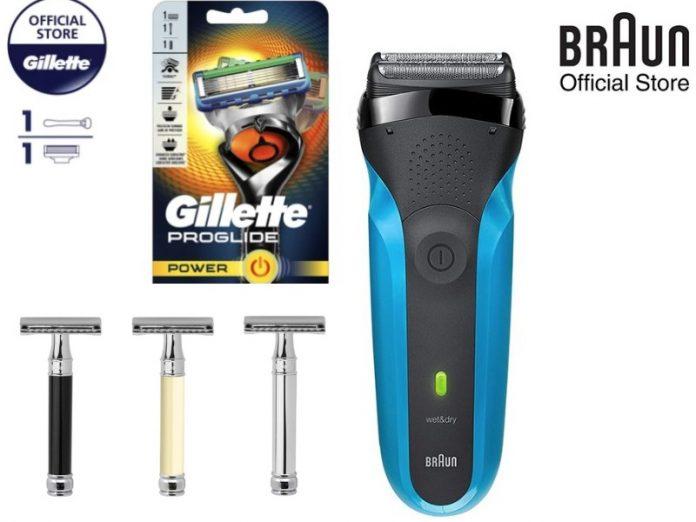 best men's shavers razors featured image