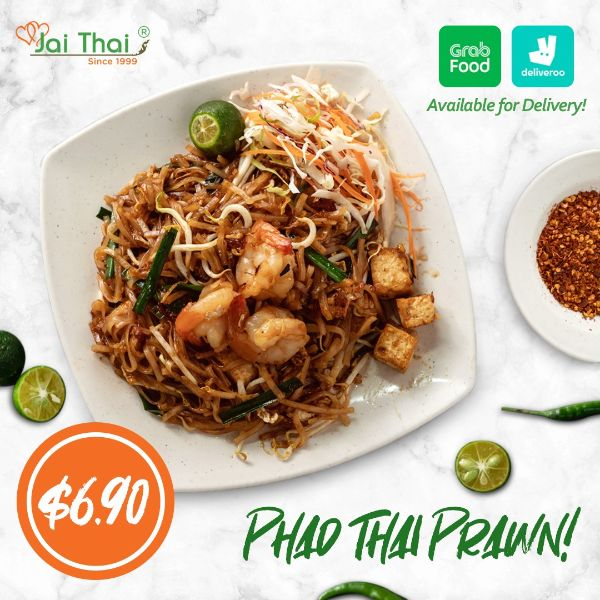 jai thai pad thai prawn best thai restaurants in singapore