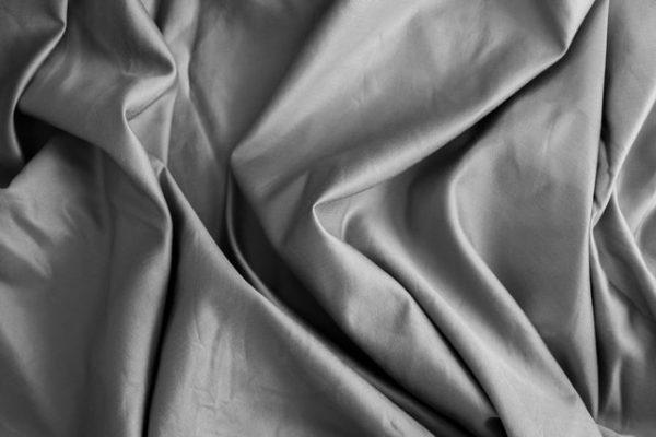 grey bedsheet thread count crumpled