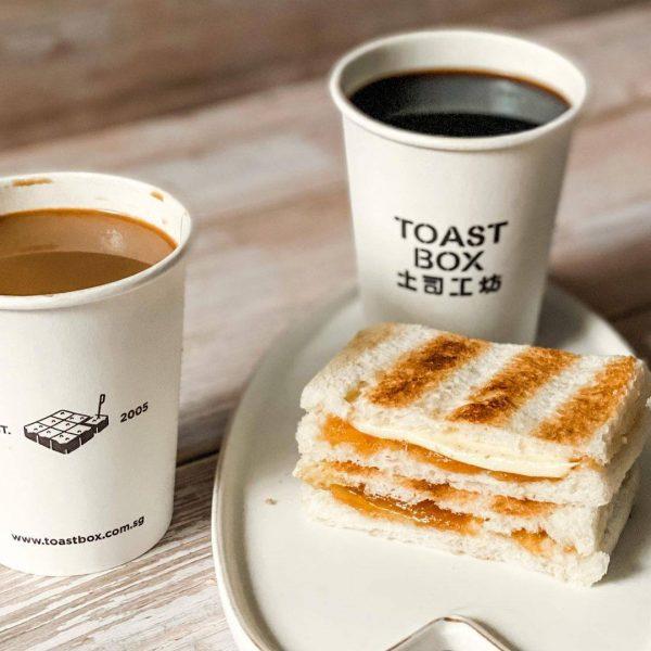 toast box kaya toast kopi tea best local snack singapore