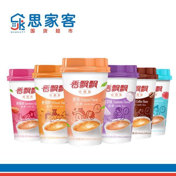 xiang piao piao classic milk tea china brand beverage