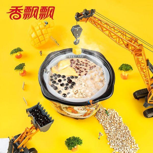 instant food xiang piao piao self heating milk tea dessert