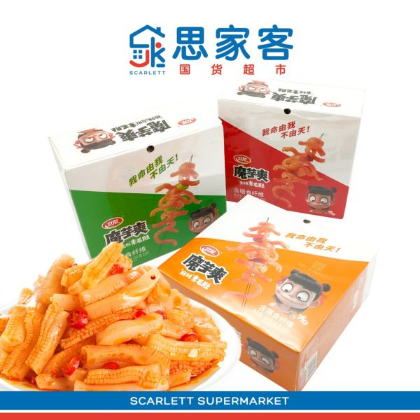 chinese snack china wei long konjac snack low calories