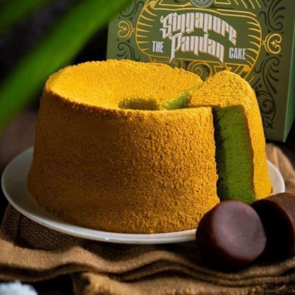 old seng choong pandan chiffon cake popular local snack singapore