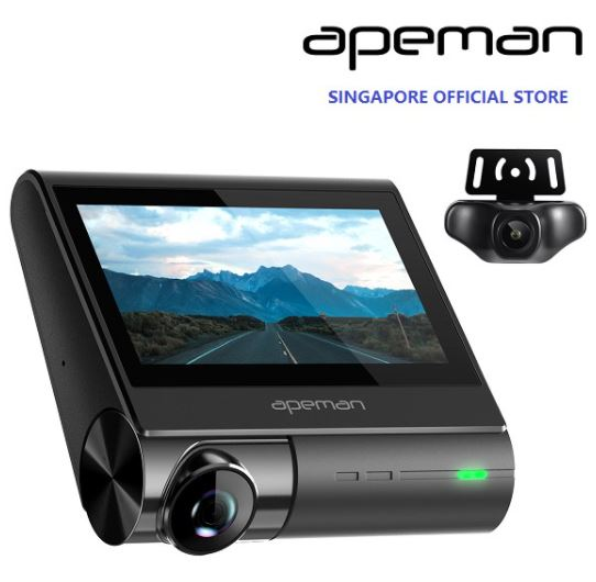 apeman c770 best dash cams singapore