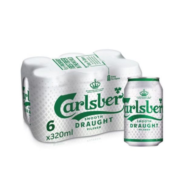 Carlsberg Smooth Draught Can grocery shopping online beer