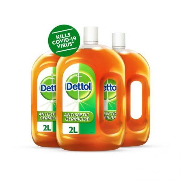 supermarket promotion dettol antiseptic germicide bundle of three