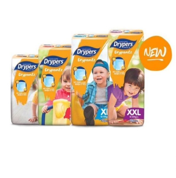 grocery shopping online drypers drypantz bundle of four diapers