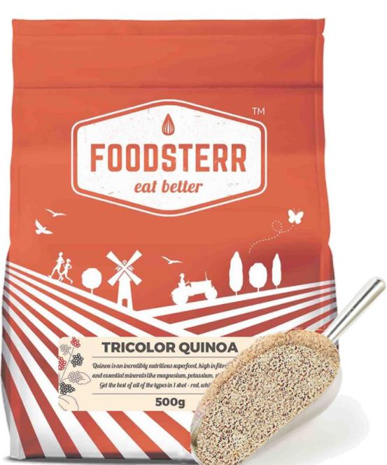foodsterr tricolour quinoa what to eat after a workout