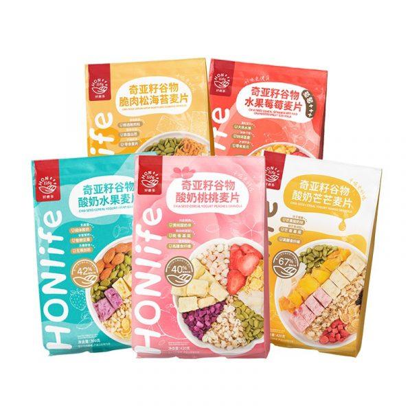 HONlife Chia Seed Cereal Granola