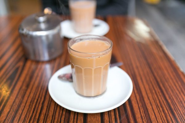 yuan yang coffee mix milk tea breakfast drink