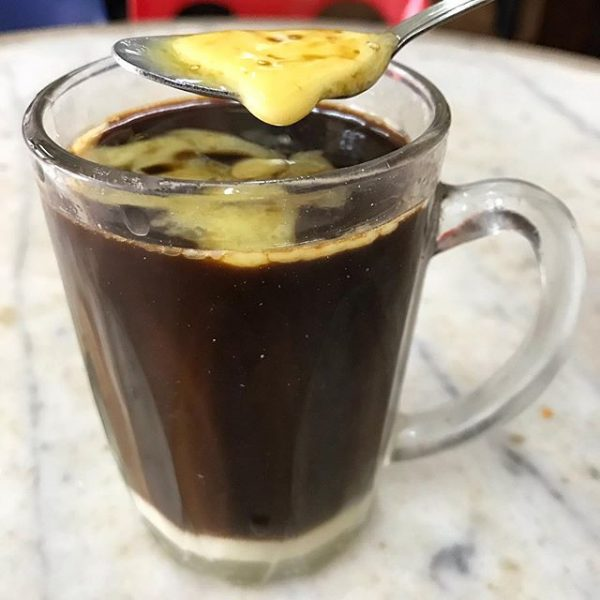 kopi gu you coffee with butter bulletproof singapore local drink