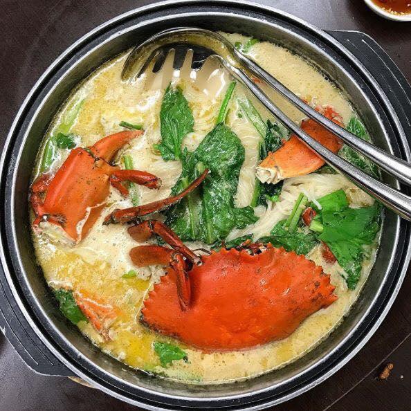 mellben signature best zi char delivery claypot crab vermicelli soup