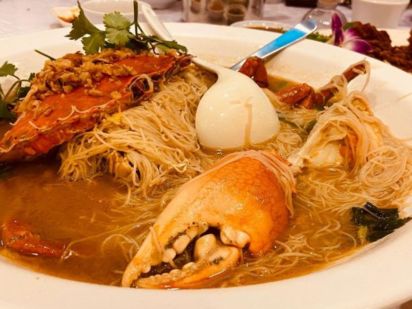 long ji zi char bee hoon crab delivery