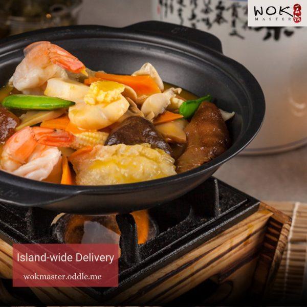 wok master best zi char delivery singapore premium claypot dish