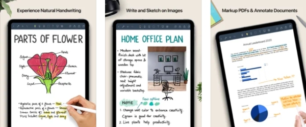 noteshelf best note taking apps for ipad
