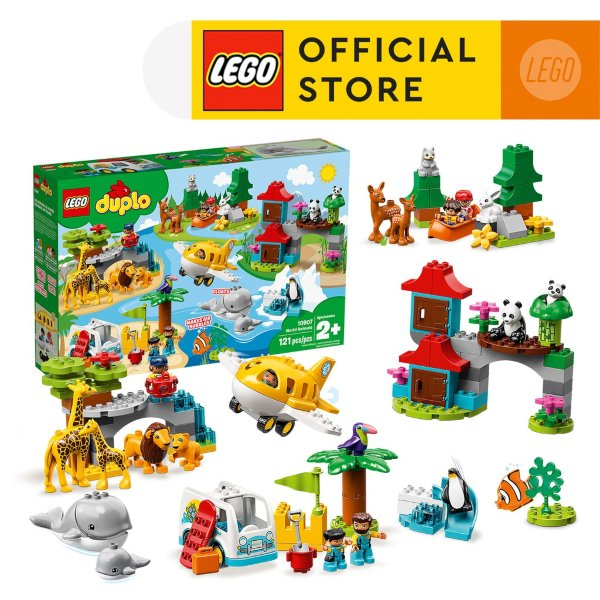 LEGO DUPLO Town World Animals role play kids