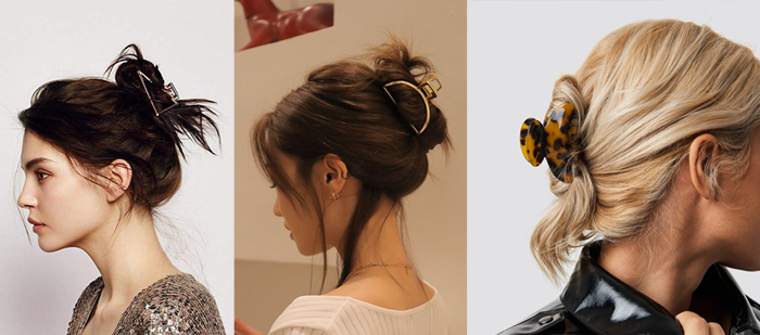 Claw clips and croc clips are back in trend! Here's how you can style 'em effortlessly - Daily Vanity
