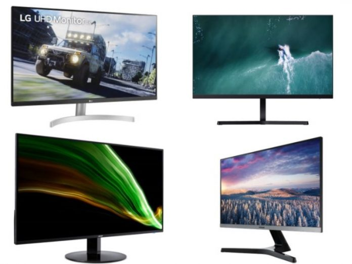 best monitors for work featured image