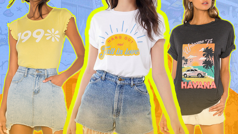 Nostalgic Graphic Tees to Add Some Retro Flavor to Your Wardrobe | StyleCaster