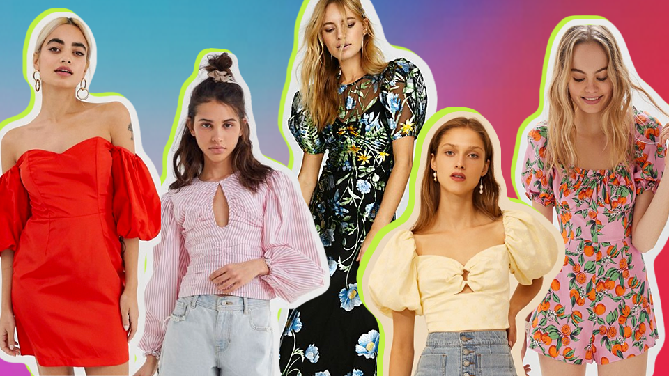 Puffy Sleeve Trend | Best Puff-Sleeve Clothes to Shop | StyleCaster