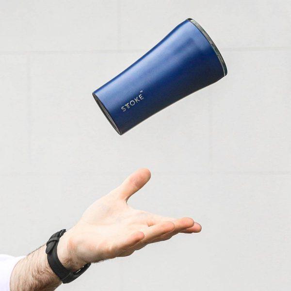 Dark blue sttoke cup teachers' day gift ideas singapore