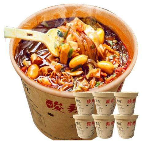 Haichijia suanlafen instant noodles