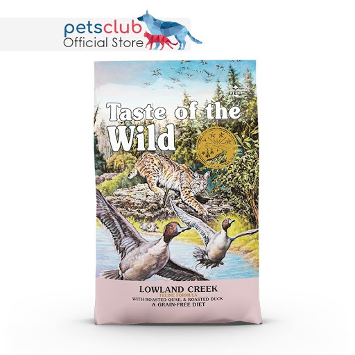 best dry cat food singapore Taste of the Wild Lowland Creek with Roasted Quail & Roasted Duck Cat Dry Food