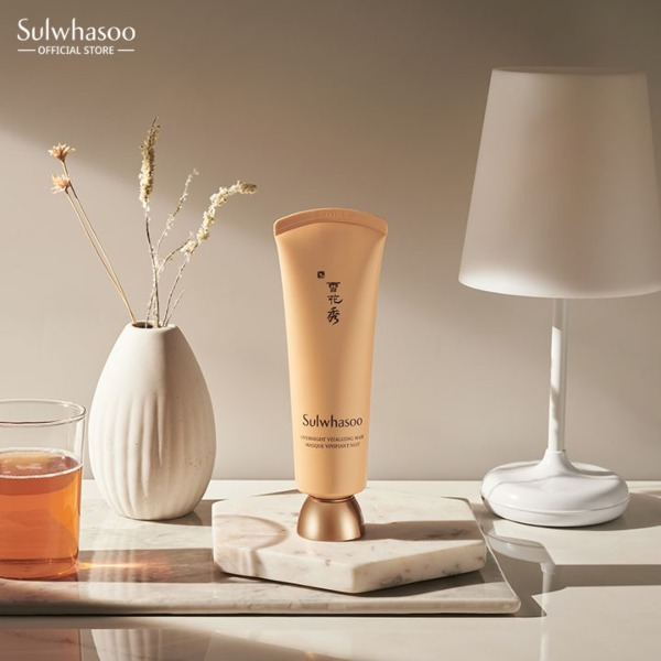 sulwhasoo overnight vitalising mask moisturising dry skin radiance glow best sulwhasoo products review