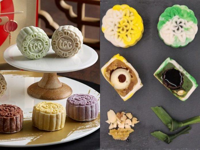 best snowskin mooncake singapore rive gauche dark chocolate the forage cafe honey infused