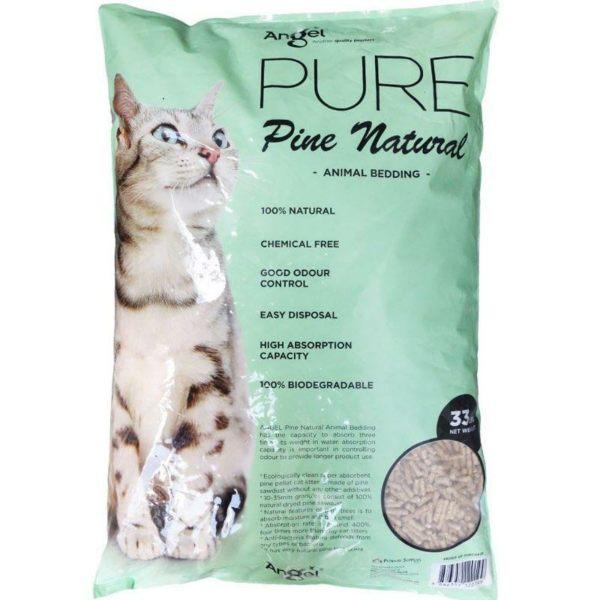 angel pine natural animal bedding best cat litter singapore