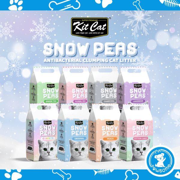 kit cat snow peas cat litter best singapore clumping