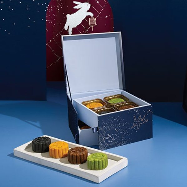 starbucks snowskin mooncake gift box coffee
