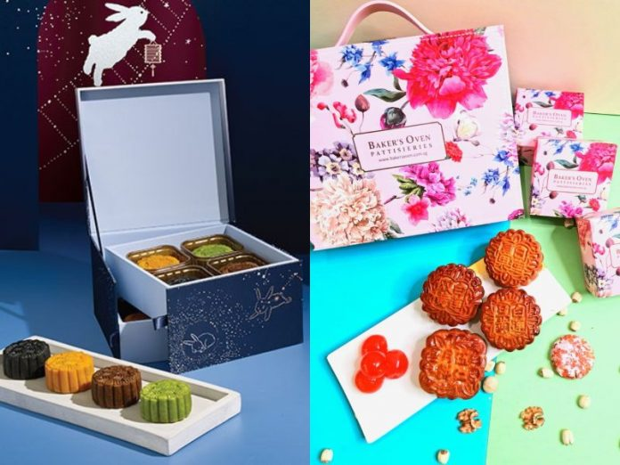 mooncake delivery singapore starbucks baker's oven next day delivery