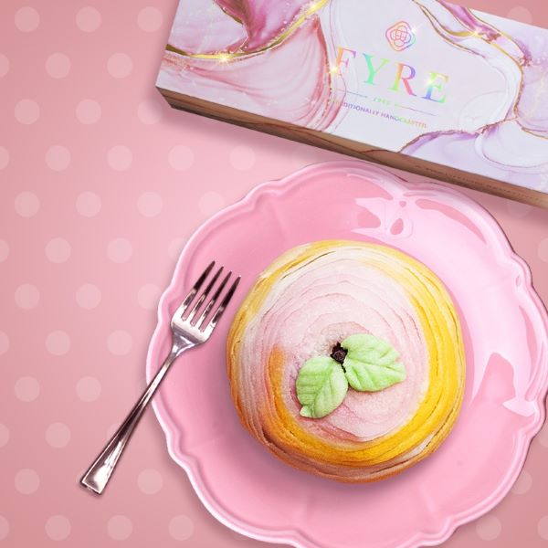 FYRE Teochew Flaky Sakura Lychee Lotus Yam Mooncake best singapore