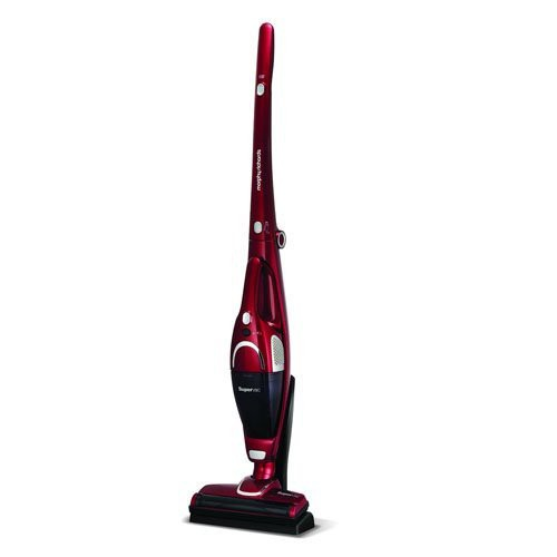Morphy Richards SuperVac Cordless Vacuum red