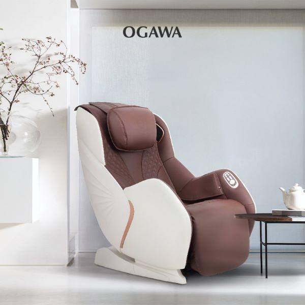 OGAWA mysofa luxe best massage chair singapore coffee white compact space-saving design