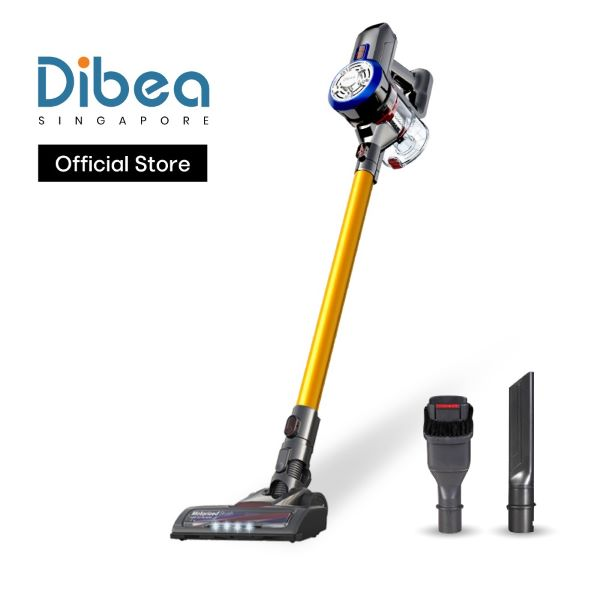 Dibea D18 Cordless Stick Vacuum Cleaner yellow best singapore