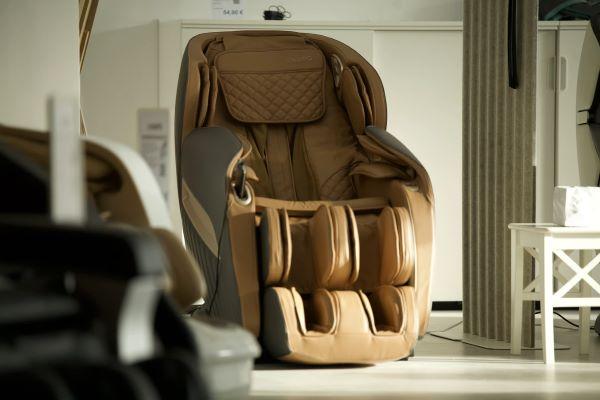 brown best massage chair singapore